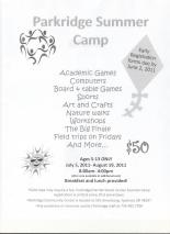 Parkridge Summer Camp